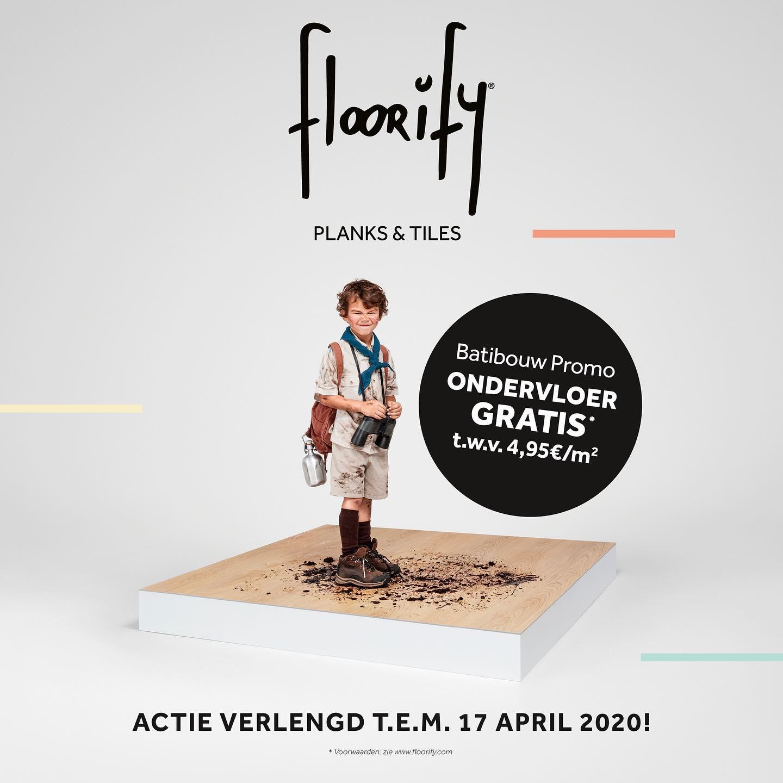 Floorify Voorjaarsactie | Gratis Comfort ondervloer