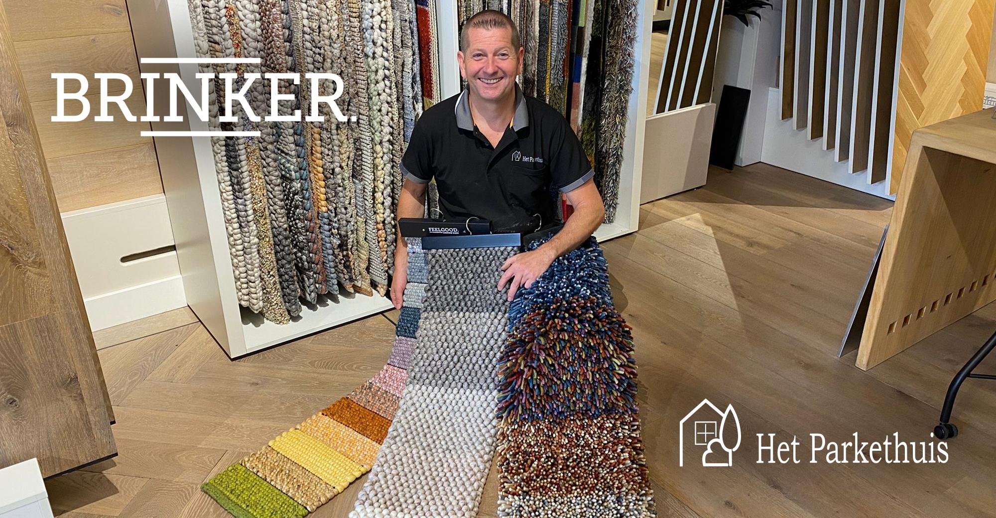 De mooiste vloerkleden van Brinker Carpets voor jouw houten vloer
