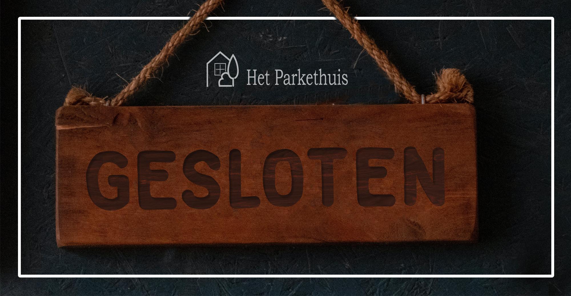 gesloten houten vloeren