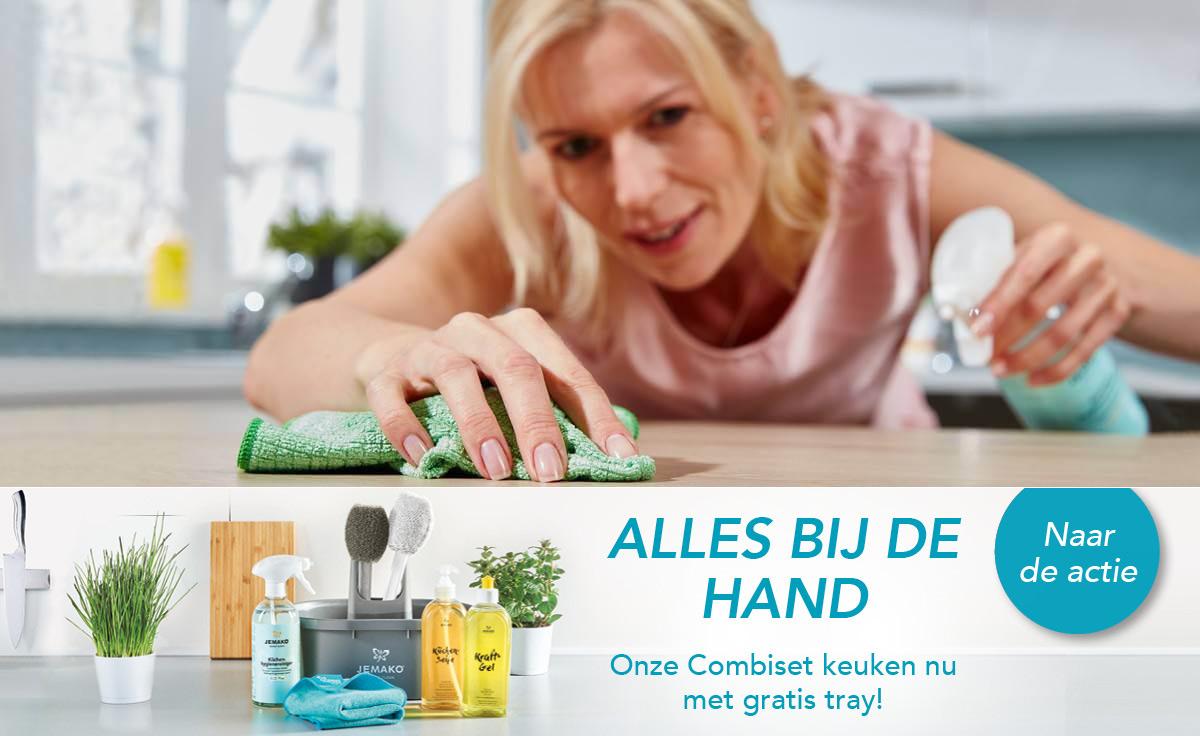 'Alles bij de hand'-actie van JEMAKO met volop voorjaarsschoonmaakproducten