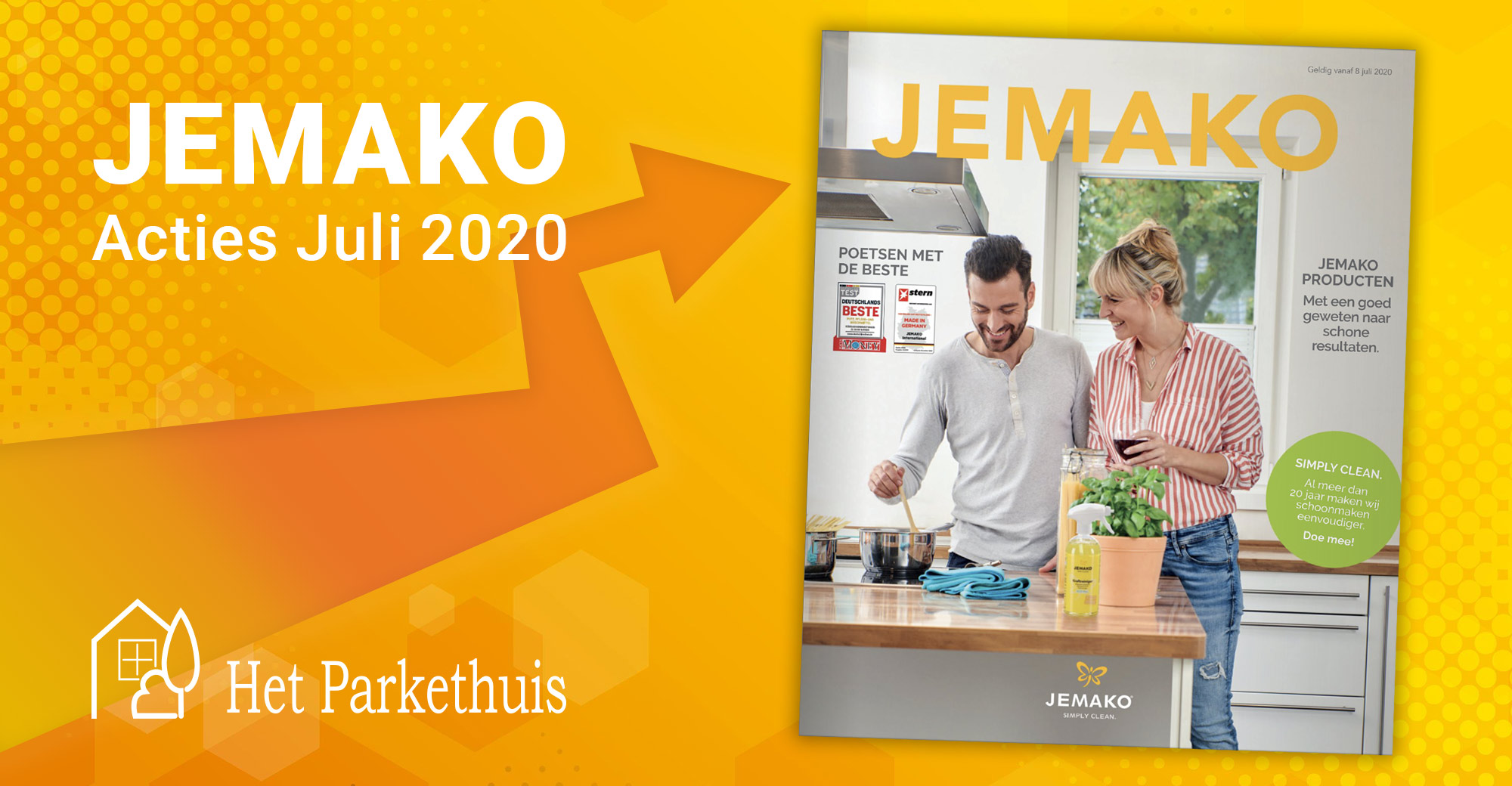 Met een goed geweten naar schone resultaten: bekijk de nieuwste JEMAKO catalogus