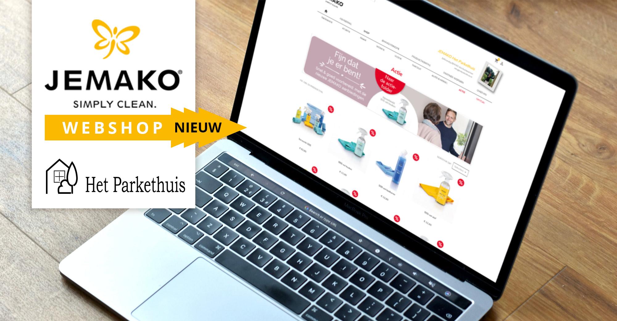 Bestel jouw JEMAKO producten via onze nieuwe webshop!