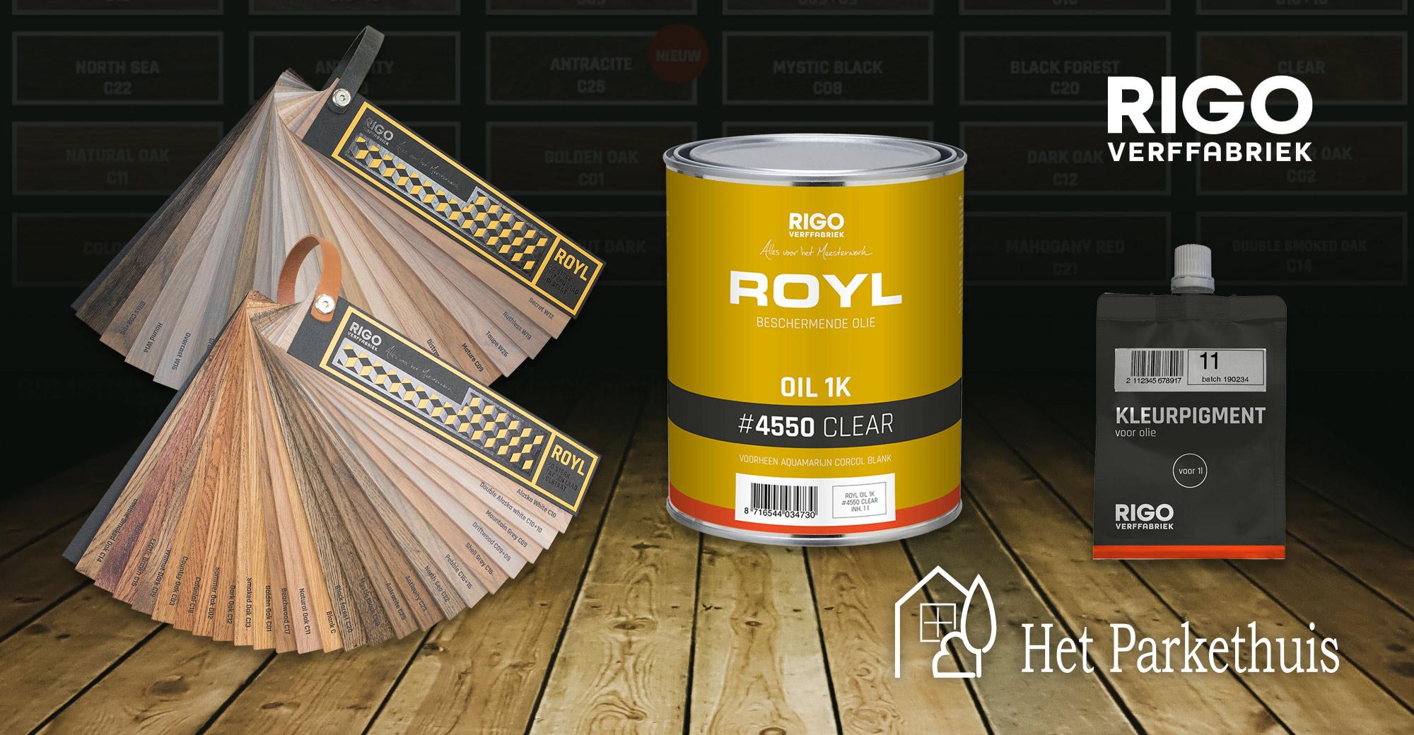 Zo lang mogelijk genieten van je houten vloer met ROYL vloeroliën